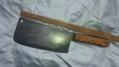 Vintage-Gregory Steel-Military-Department Of Defence-Cleaver-Old Tool