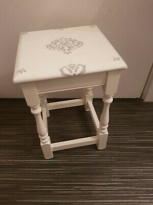 VINTAGE SHABBY CHIC 1950's UPCYCLE TABLE