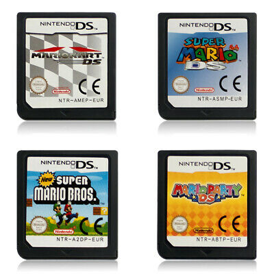Super Mario Bros, Kart 64, Party Game Card For Nintendo NDS NDSL 3DS 3DSLL NDSI