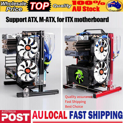 Universal PC Test Bench Motherboard Case DIY  for ITX ATX MATX XL-ATX Chassis AU