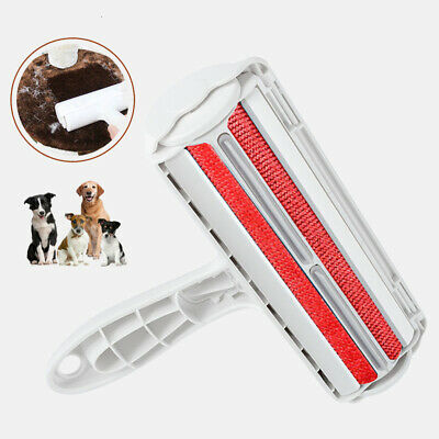 Pet Hair Remover Sofa Clothes Lint Cleaning Brush Reusable Dog Cat Fur Roller UK