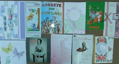25 Greeting Cards Quality Occasions Birthdays Etc Joblot Wholesale