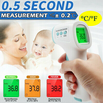 Non-contact Digital Laser Infrared IR Forehead Thermometer Temperature Gun touch