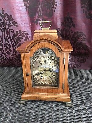 A Fine Dutch Chiming Mantel Clock By Warmink