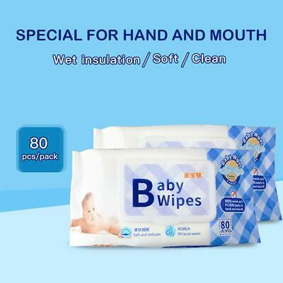 sale Baby Cleaning Wet Wipes Unscented, 80pcs/pack, 6 pack