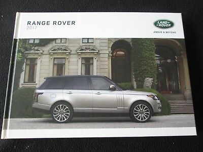 2017 Range Rover Brochure HSE Supercharged SV-Autobiography Land Rover Catalog