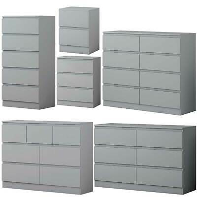 Matt Grey Bedroom Furniture.Ultra Modern Design.Available separately or as Sets