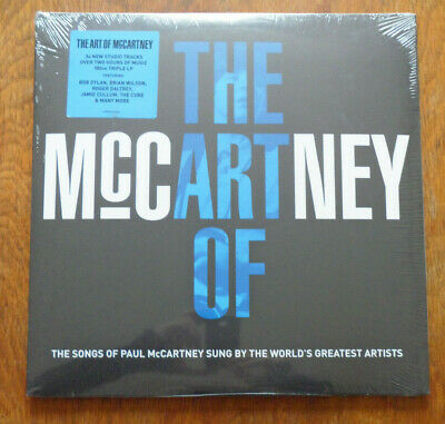 The Art Of McCartney 3xLP Comp APGATEV1402 Billy Joel Bob Dylan Kiss Alice Coope