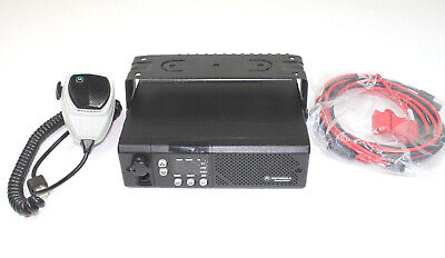 Motorola GM300 VHF 146-174 Mhz 16 Ch 45 Watts Mobile Radio COMPLETE