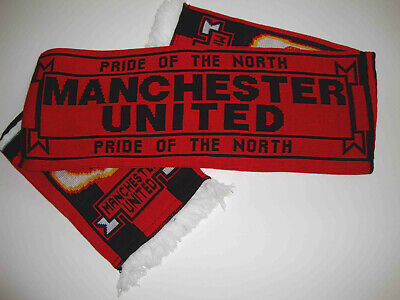 Manchester United Football Scarf Jacquard Made In England
