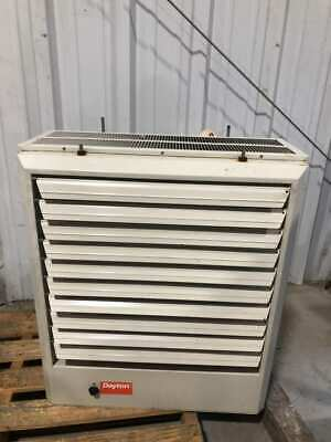 Dayton 2YU78 Room Unit Heater 30kW 480V 3PH 102,300 BTUH 2100/1800CFM