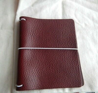Chic Sparrow Pocket Plus Traveler Notebook~Aubergine~New~Free Shipping~