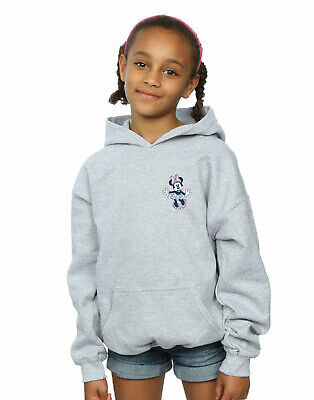 Disney Girls Minnie Mouse Dancing Chest Hoodie