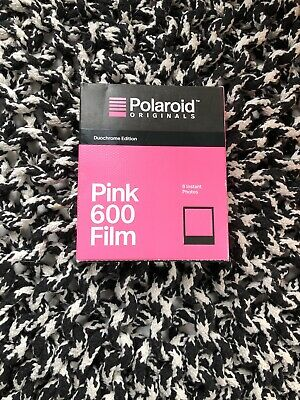 Polaroid Originals 600 Duochrome Pink Limited Edition Expired 03/18 Black Frame