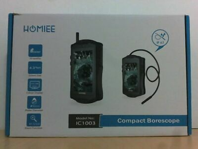 "NEW Homiee IC1003 Digital Inspection Borescope Camera w 4.3"" LCD Screen $100"