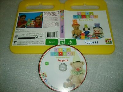 PLAY SCHOOL - PUPPETS - ABC 4 Kids Australian Issue (over 2 Hrs) - DVD Region 4