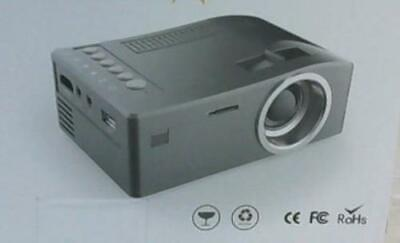 NEW 16:9 Mini Led Projector, Black