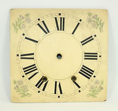 """WOODEN CLOCK DIAL 11"""" by 10-9/16"""" ANTIQUE WR250"""