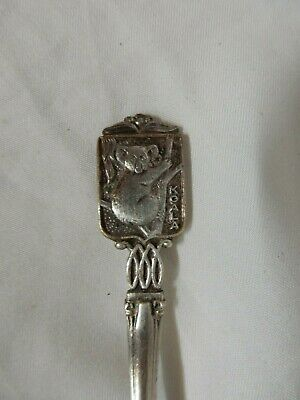 Australian Koala Paramount Silverplate teaspoon