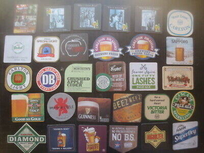 30 different AUSTRALIAN Issue Beer COASTERS, for $4.00 collectable C