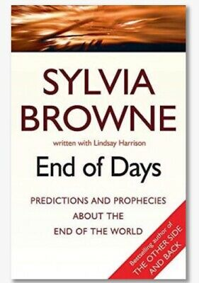 End Of Days Predictions & Prophecies - Sylvia Browne (Digital Download PDF)