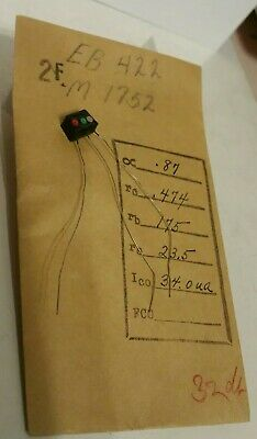 M-1752 first Bell Labs grown junction transistor - Sparks, Teal listing another
