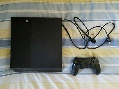 Sony PlayStation 4 500GB - Jet Black with Fallout 4 and Metal Gear Solid V