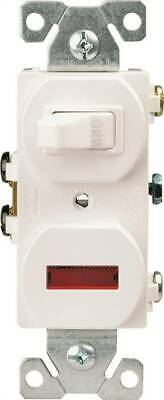 Eaton Wiring Devices 277W-BOX Combination Toggle Switch 120 V Strap Mounting