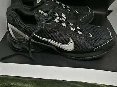 Used Nike Air Max Torch 3 Men's Shoes Size 11.5 Black/Silver 319116 011