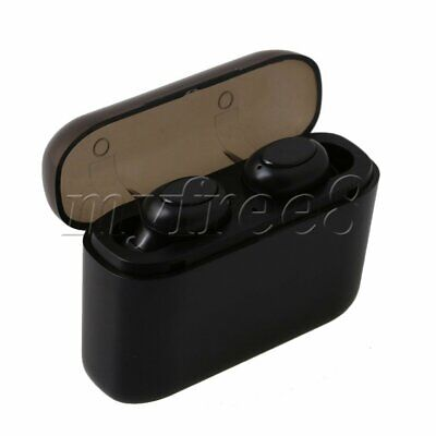 1 Pair Wireless In Ear Sport Bluetooth Earbuds Headphone with Rectangle Box