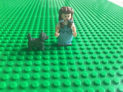 Genuine Lego Movie 2 Minifigure Series - Dorothy And Toto - The Wizard Of Oz