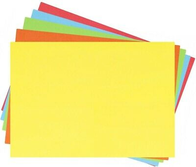 60 A4 Paper Sheets - 70Gsm Coloured Printer Copier Craft Paper Red Blue Green