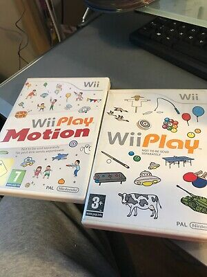 Wii Play game & Wii Play Motion for Nintendo Wii & Wii U sports