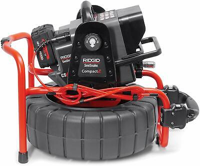 RIDGID 48103 SeeSnake Compact2 System with Self-Leveling Pipe Inspection Camera