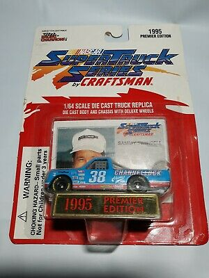 Racing Champions 1:64 Scale NASCAR #38 Sammy Swindell Race Truck Card Stand 1995