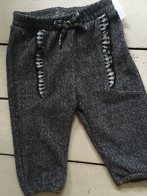Zara Baby Bn Girls Grey Pretty Trousers Jogging Bottoms 3 months