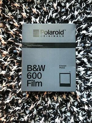 Polaroid Originals 600 Black Frame Edition B&W Instant Film Prod. 08/19