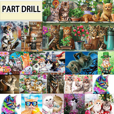 Set Special Shaped Diamond Painting DIY 5D Partial Drill Cross Stitch Kits Gift