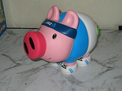 Anz Bank Collectible Piggy Bank From The Australian Open -Great Used