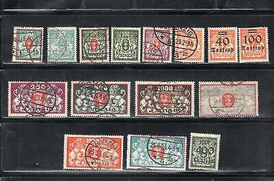 Germany Danzig  Stamps   Mint Hinged & Used  Lot 14301