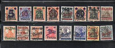 Germany Danzig  German Occupied Stamps   Mint Hinged & Used  Lot 14306