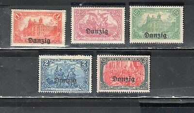 Germany Danzig  German Occupied Stamps   Mint Hinged   Lot 14308