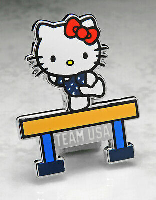 Olympic Pins Badge 2020 2021 Tokyo Japan Hello Kitty Team Usa Usoc Gymnastics