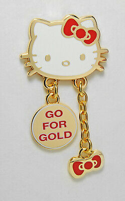 Olympic Pins Badge 2020 2021 Tokyo Japan Hello Kitty Team Usa Usoc Cat Dangler