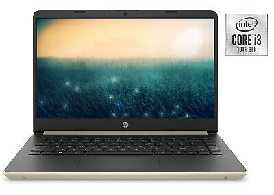 NEW HP 14 HD Intel i3-1005G1 Dual Core 3.4GHz 128GB SSD 4GB RAM Webcam Mic WIN10