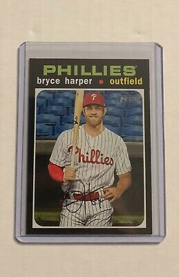 2020 TOPPS HERITAGE HIGH NUMBER SHORT PRINT Bryce Harper #447