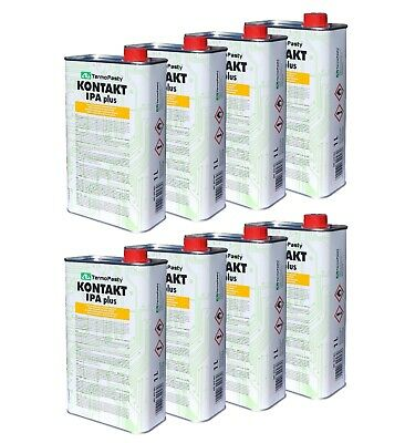 8 x 1 LITRE | IPA 99.9% PURE | ALCOOL ISOPROPYLIQUE / ISOPROPANOL | 1L / 1000ML