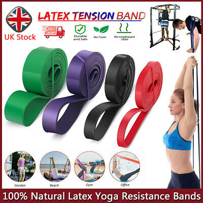 Resistance Bands Power Lifting Exercise Assist Band Fitness Pull Up Band Latex