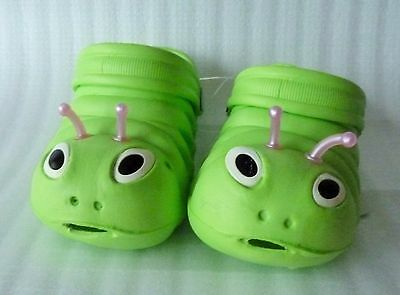 Funny Baby Kids Girl Boy Toddler Green Crocs Sandal Shoes Size: 22, 25