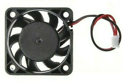 Hele 40mm Brushless Computer Fan 2pin Molex 12V 115mA 1.4W Cooling FREE POSTAGE